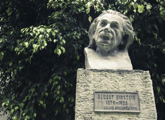 Busto de Einstein